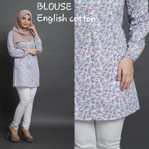 blouse english cotton floral