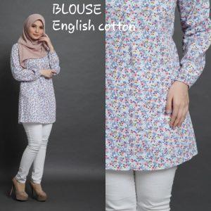 blouse english cotton floral