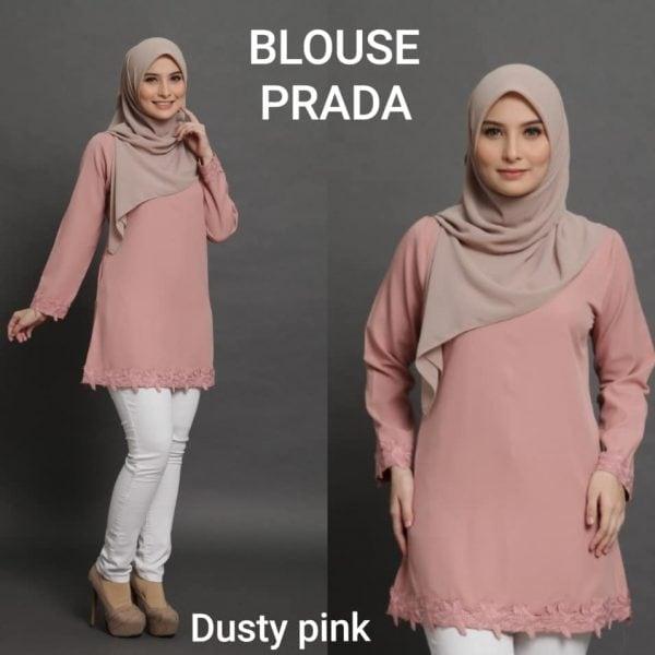 blouse prada plain