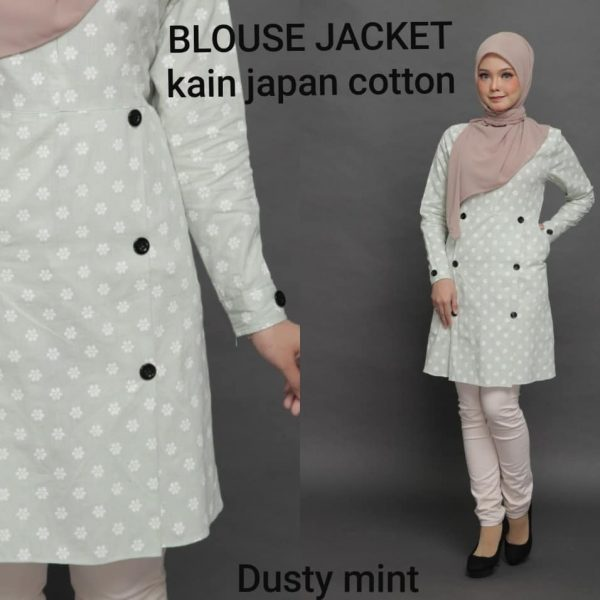 blouse japanese cotton jacket
