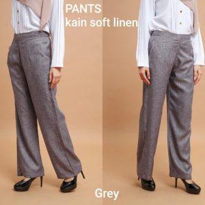 pants soft linen seluar panjang