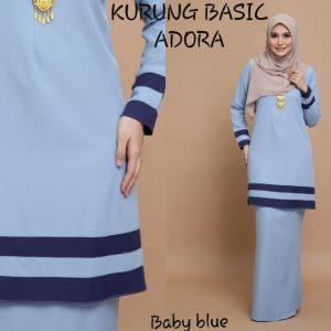 baju kurung basic adora