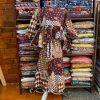 baju batik peplum budak english cotton