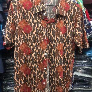 baju batik cotton kemeja